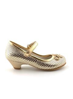 Cici Bebe Ayakkabı Crocodil Kız Çocuk Abiye